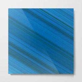 Diagonal Stripes #14 Metal Print
