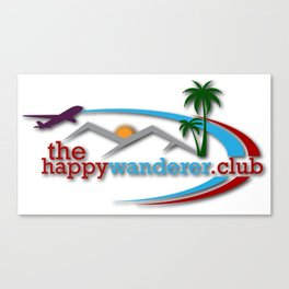 The Happy Wanderer Club Canvas Print