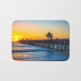 San Clemente Pier California United States Ultra HD Bath Mat