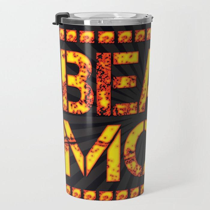 Get into Beast Mode Travel Mug