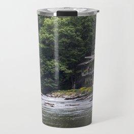 Calming the River Travel Mug
