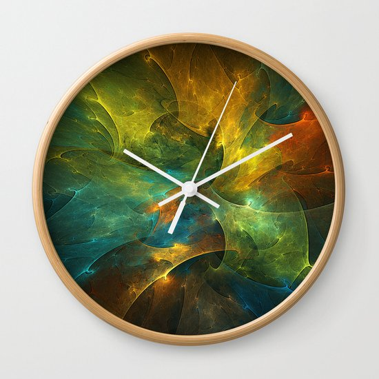 Somewhere in the Universe Wall Clock