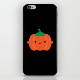 Happy Halloween Pumpkin iPhone Skin