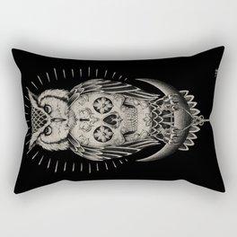 BLK OWL Rectangular Pillow
