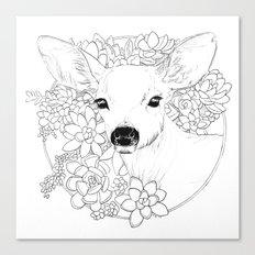 I Deerly Love You Canvas Print
