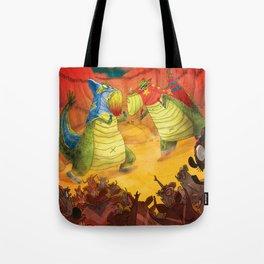 Dinoluchadores Tote Bag
