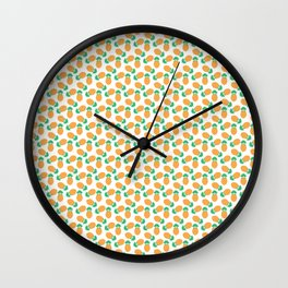 Diamond Pineapple Wall Clock