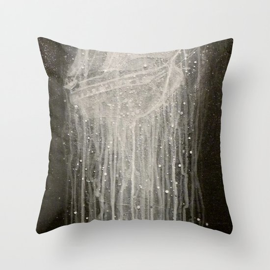 Man o war throw pillow by bryan keith lanier society6 for Michael j arlen living room war