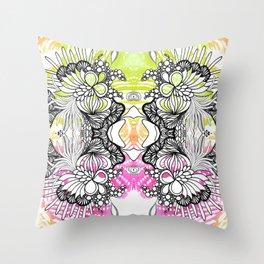 Rorshach 6 Throw Pillow