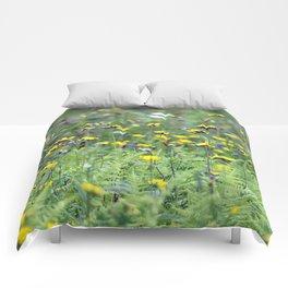Summer Field Killington Vermont Comforters