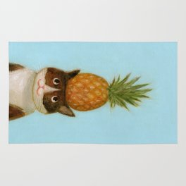 Pineapple Cat Rug