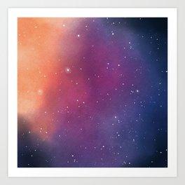 Nebula OMB Art Print