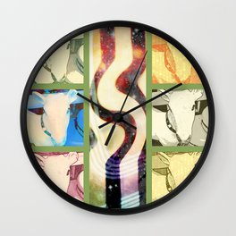 Pop Goat Wall Clock