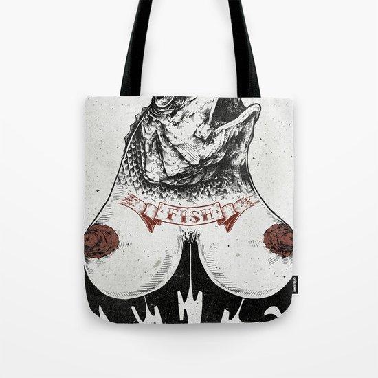 Fishtits Tote Bag