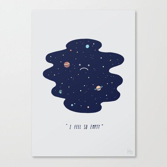 Negative Space Canvas Print