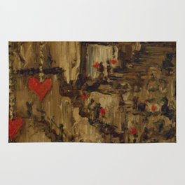Steampunk Manufactured Love Rug