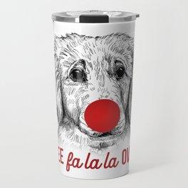 Christmas Puppy Travel Mug