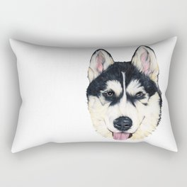 Husky Rectangular Pillow