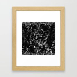 Nothing to say TORM Framed Art Print