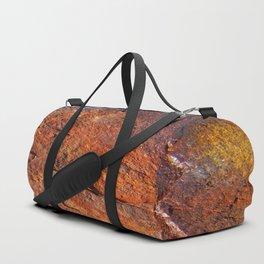 Fire Stone rustic decor Duffle Bag