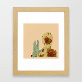 Roses and Logic Framed Art Print