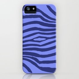 Animal Waves (Blue Mood) iPhone Case