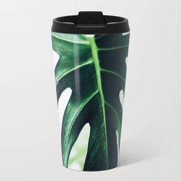 spring monstera Travel Mug