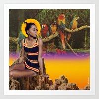 Supreme Summer Art Print