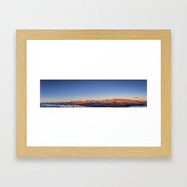 Mackenzie colours Framed Art Print