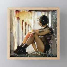Mathilda - Leon the Professional Framed Mini Art Print
