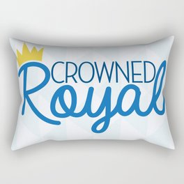 Crowned Royal Rectangular Pillow