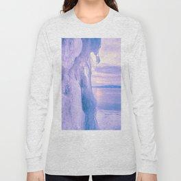 Ice cliff of Lake Baikal Long Sleeve T-shirt