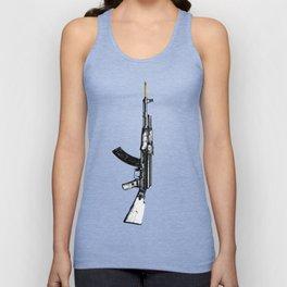 AK 47  Unisex Tank Top