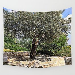 Tree of Geometry Wall Tapestry