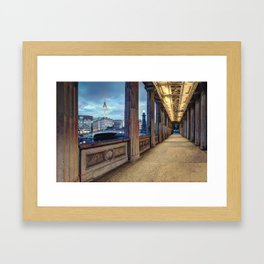 Window To The Other World Framed Art Print