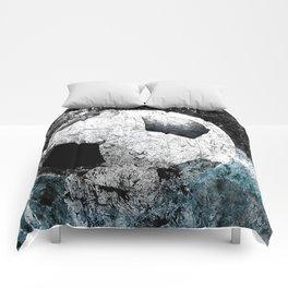 Modern soccer version 1 Comforters