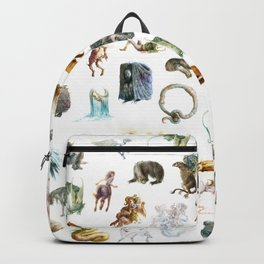 ABC of Magical Creatures Backpack