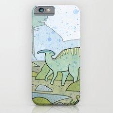 Duck-billed Dinosaur, Parasaurolophus Slim Case iPhone 6s
