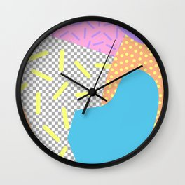 New Wave Series No. 2 Wall Clock