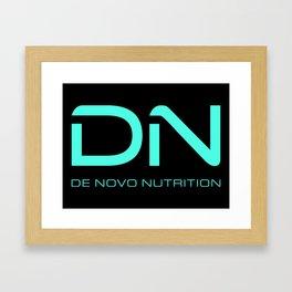 Crimson DN Logo Framed Art Print