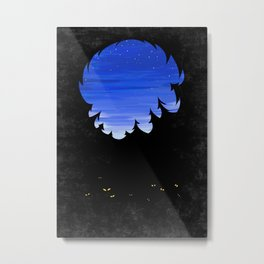 Forest in the night Metal Print