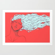 I fell in love with your beautiful mind Art Print