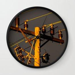Circuit Breaker Wall Clock