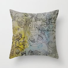 what's your name Throw Pillow