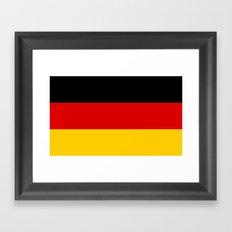 Flag of Germany Framed Art Print