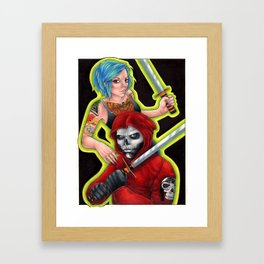 Bone Crask Framed Art Print