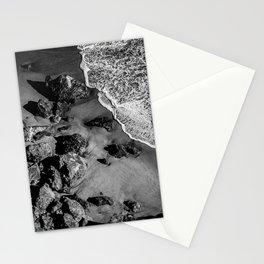 Ocean Waves on Rocks Stationery Cards