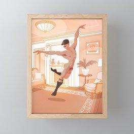 Finally All Alone Framed Mini Art Print