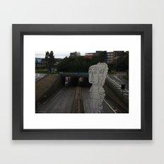 Geordie Framed Art Print