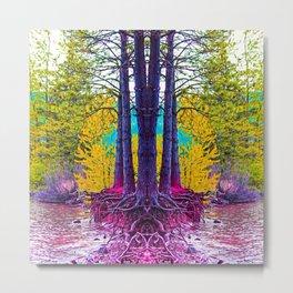 Roots 4 Metal Print
